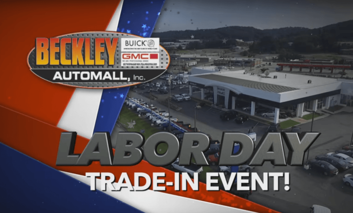 Beckley Auto Mall Labor Day event car commercial video production by cucumber and company