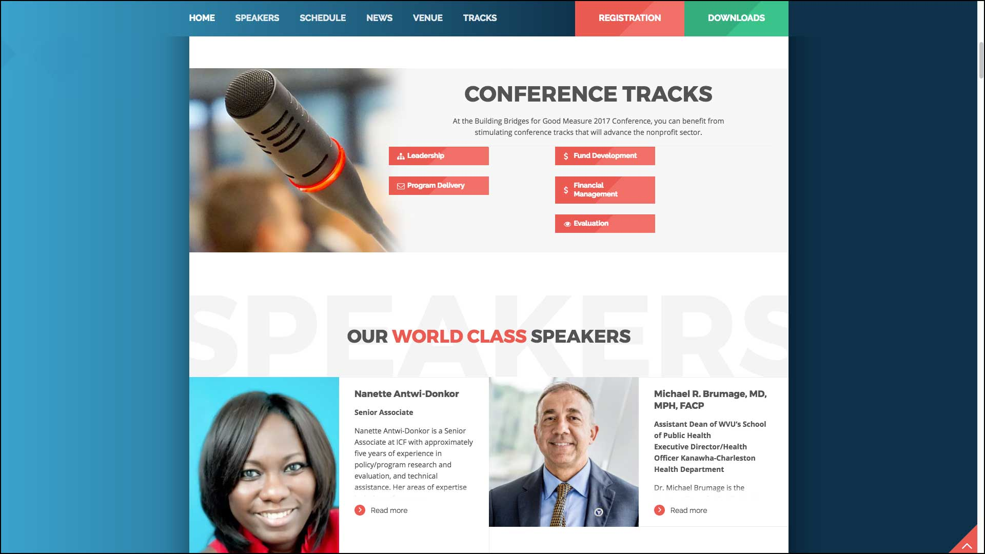 the greater kanawha valley foundation conference website West Virginia Web Design by Cucumber & Company