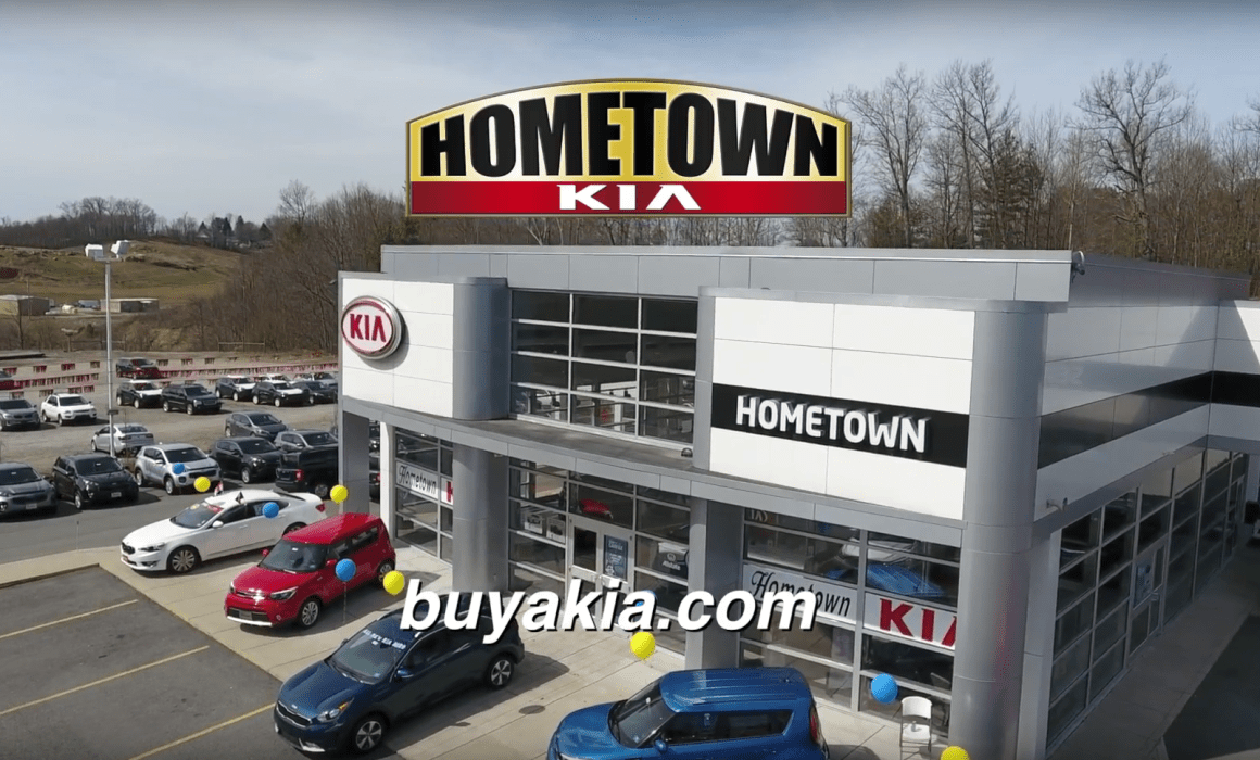 Hometown Kia Website Video Production Car dealer Advertisements Beckley WV Cucumber & Company