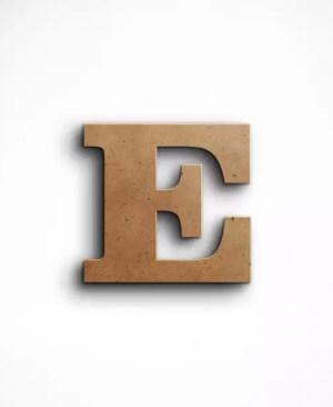 Stojąca litera E