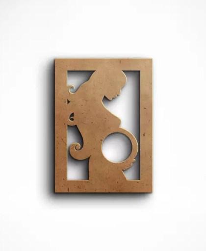 Ramka na pamiątkowe zdjęcie usg - wzór 6