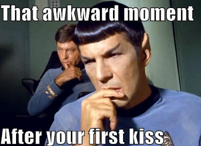 Image result for awkward kiss