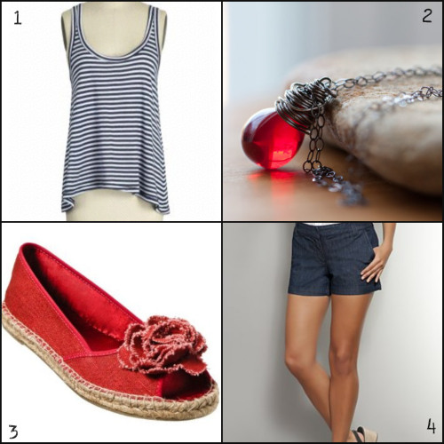fourth of july fashion: bbq outfit