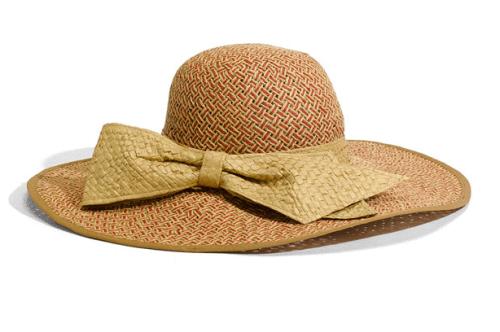 sun hats:  Jessica Simpson
