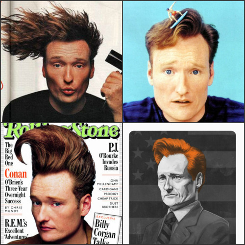 conan o'brien crush: hair