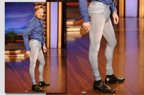 conan o'brien crush: jeggings