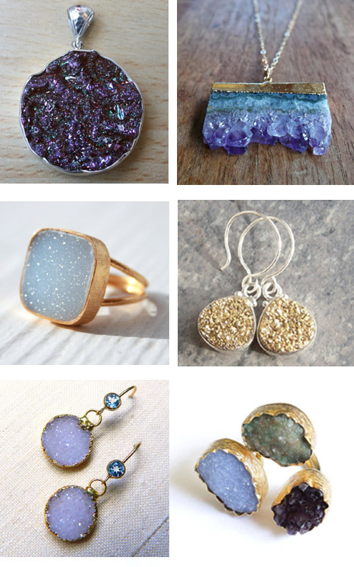 obsession of the week | druzy