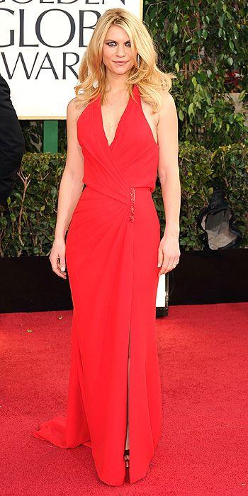 Claire Danes 2013 Golden Globes
