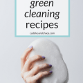 DIY green cleaning recipes: eco-friendly ways to make your own all-purpose cleaner, glass cleaner, toilet cleaner and more