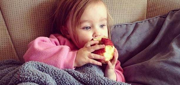 apple lips via Instagram