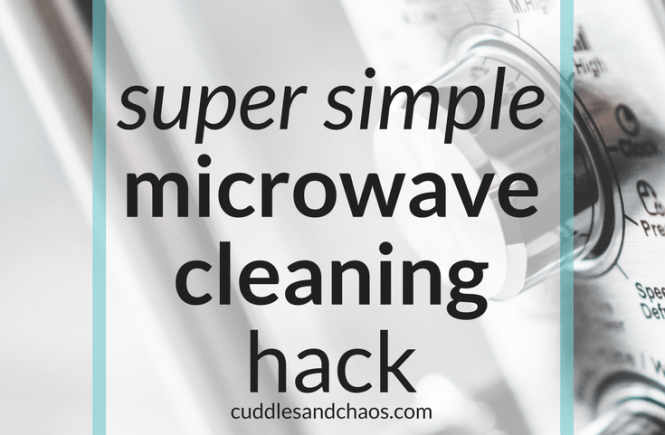super simple eco-friendly microwave cleaning hack #greencleaning #allnatural