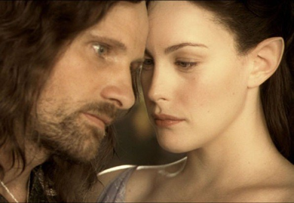 Unlikely pairs: Arwen and Aragorn
