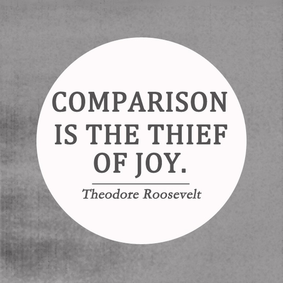inspirational quotes comparison is the thief