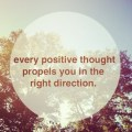 inspirational quotes every positive thought
