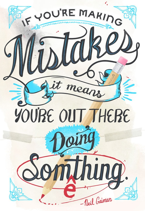 inspirational quotes making mistakes