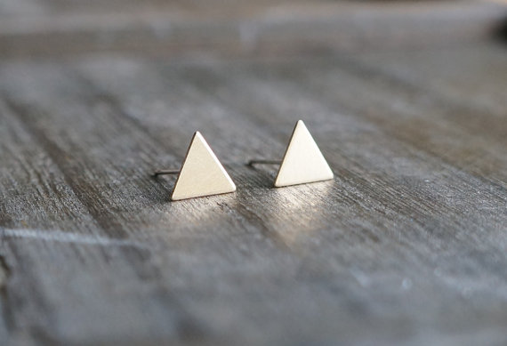 etsy finds geometric shapes: lefaire earrings