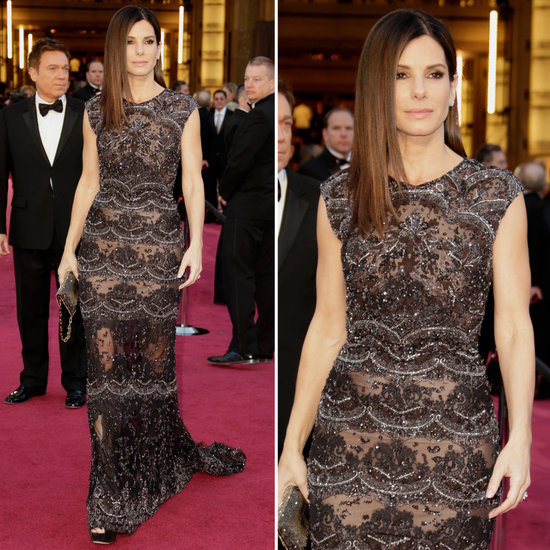 Oscars fashion: Sandra Bullock