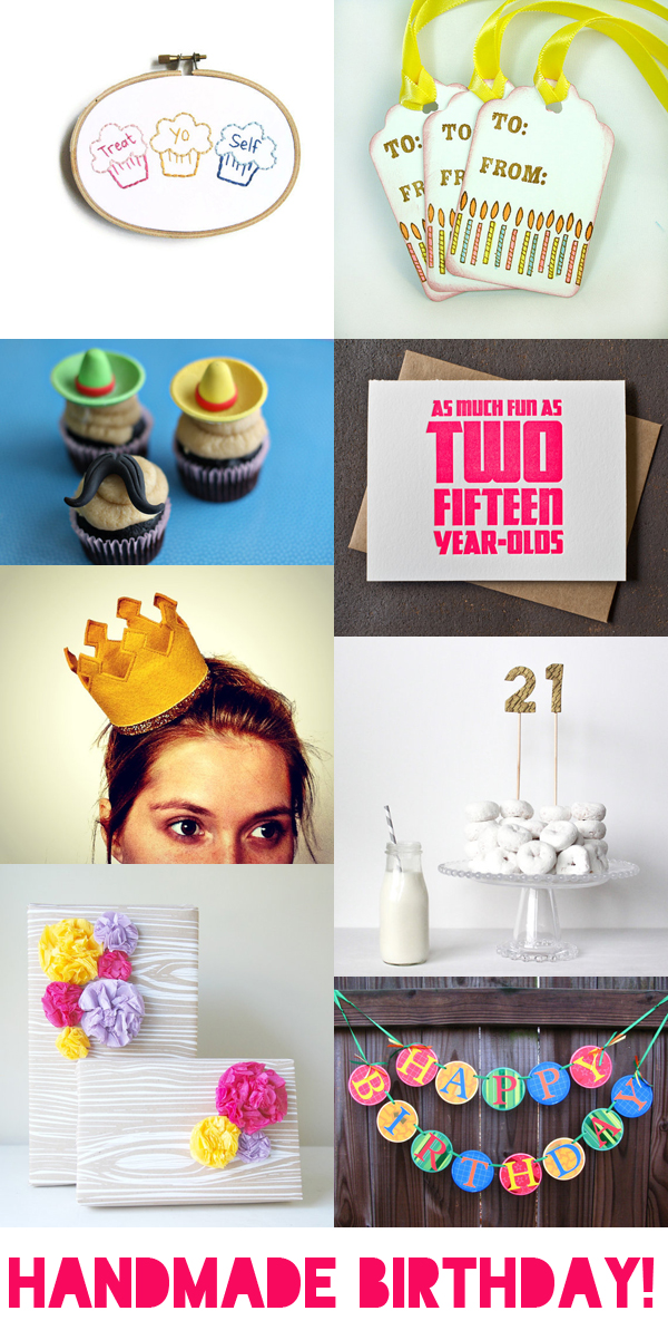 etsy finds: handmade birthday