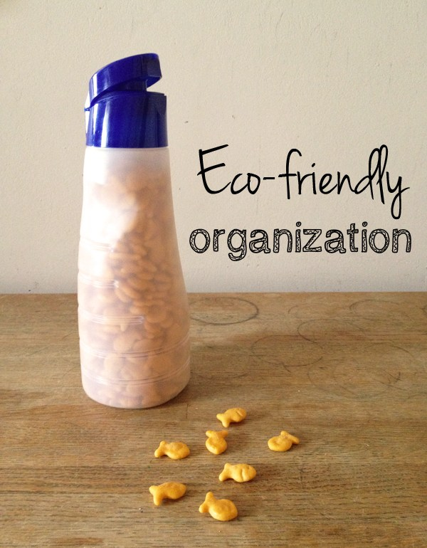 eco-friendly organization ideas