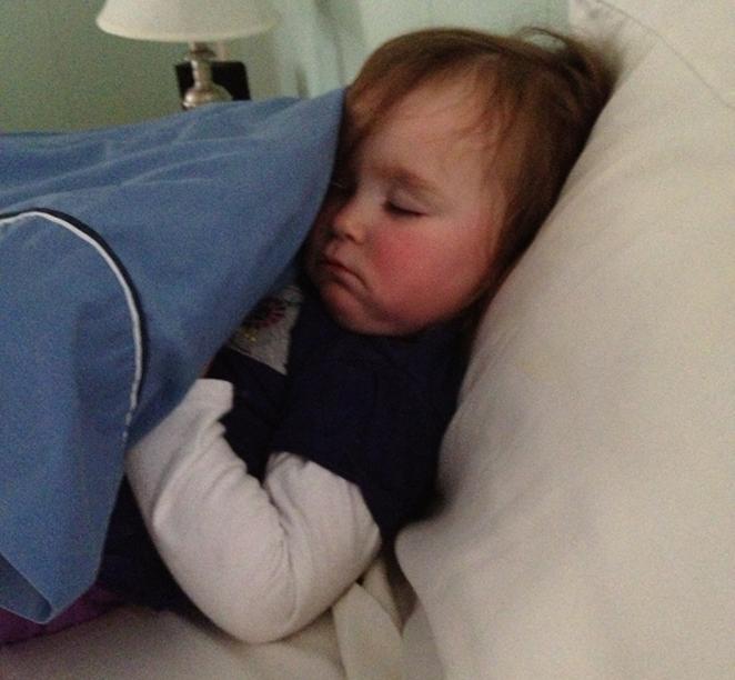 mom diary: sleep monster