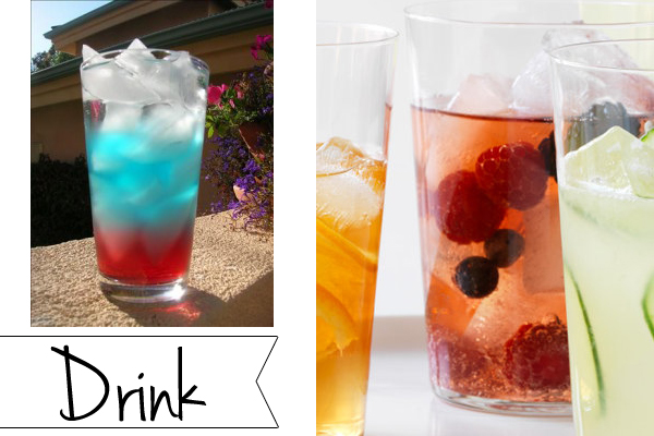 Memorial Day party ideas: drink