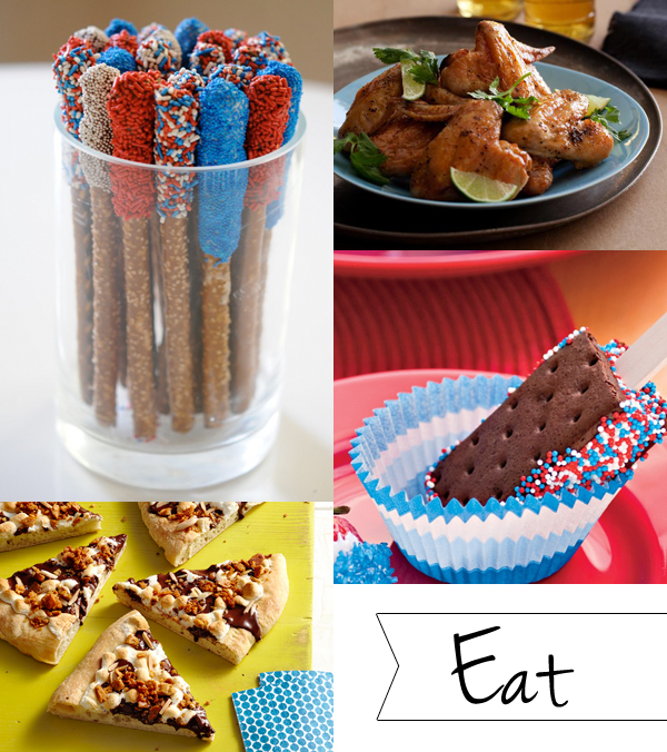 Memorial Day party: eat