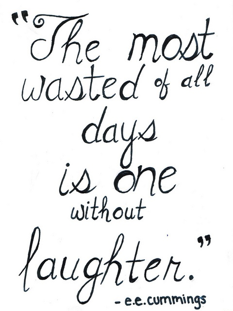 Inspirational quotes: laughter