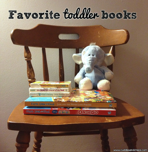 favorite toddler books