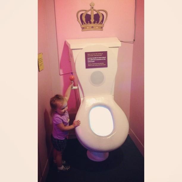 Children's useum of Manhattan: royal flush