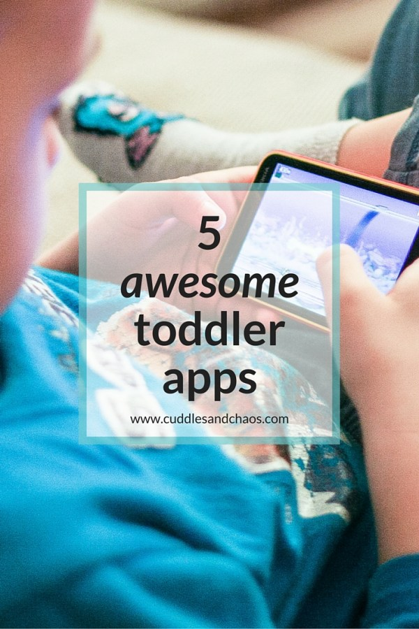 5 awesome toddler apps
