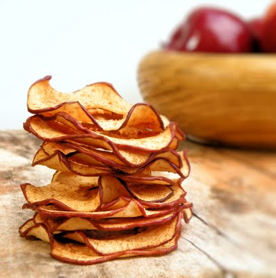 apple recipes: apple chips