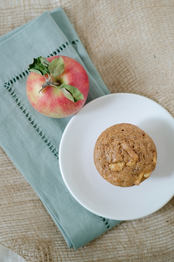 apple recipes: apple muffins