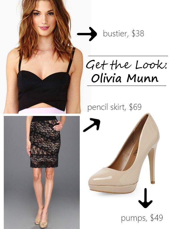 get the look Olivia Munn