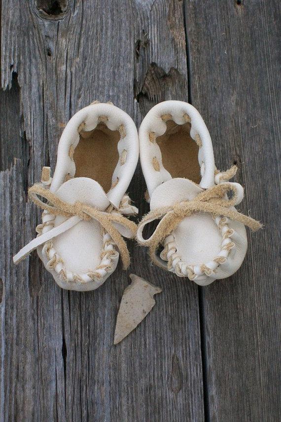 thunderrose baby moccasins