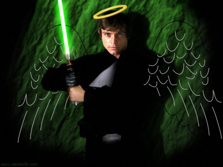 Bad Dad Guide to teaching your kids about saints: Saint Luke Skywalker
