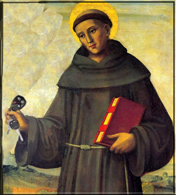 Bad Dad Guide to teaching kids about saints: St. Anthony
