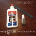 Pintervention: DIY manicure with glue