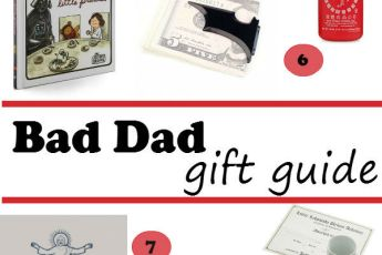 holiday gift guide: bad dad