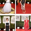 Golden Globes gowns that look like they were made in the car