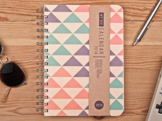 Etsy finds: The Big Calendar calendar diary