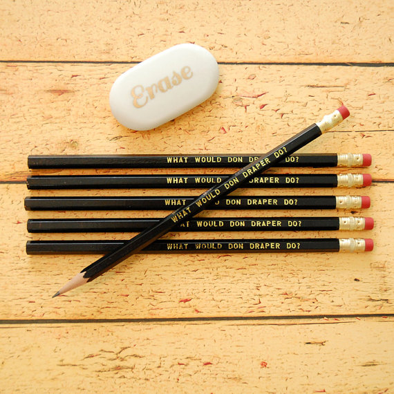 Etsy Finds: Lucy Lambtail pencils