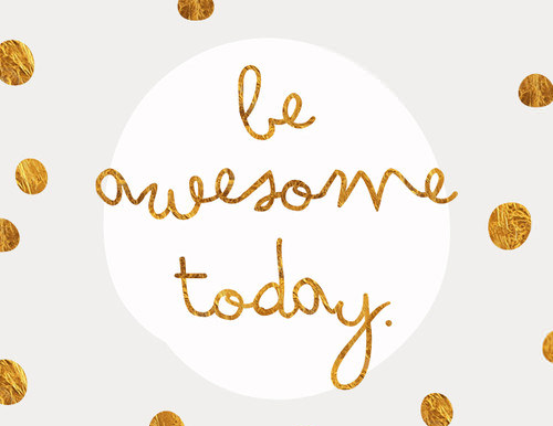 be awesome today free desktop art from Smashing Magazine