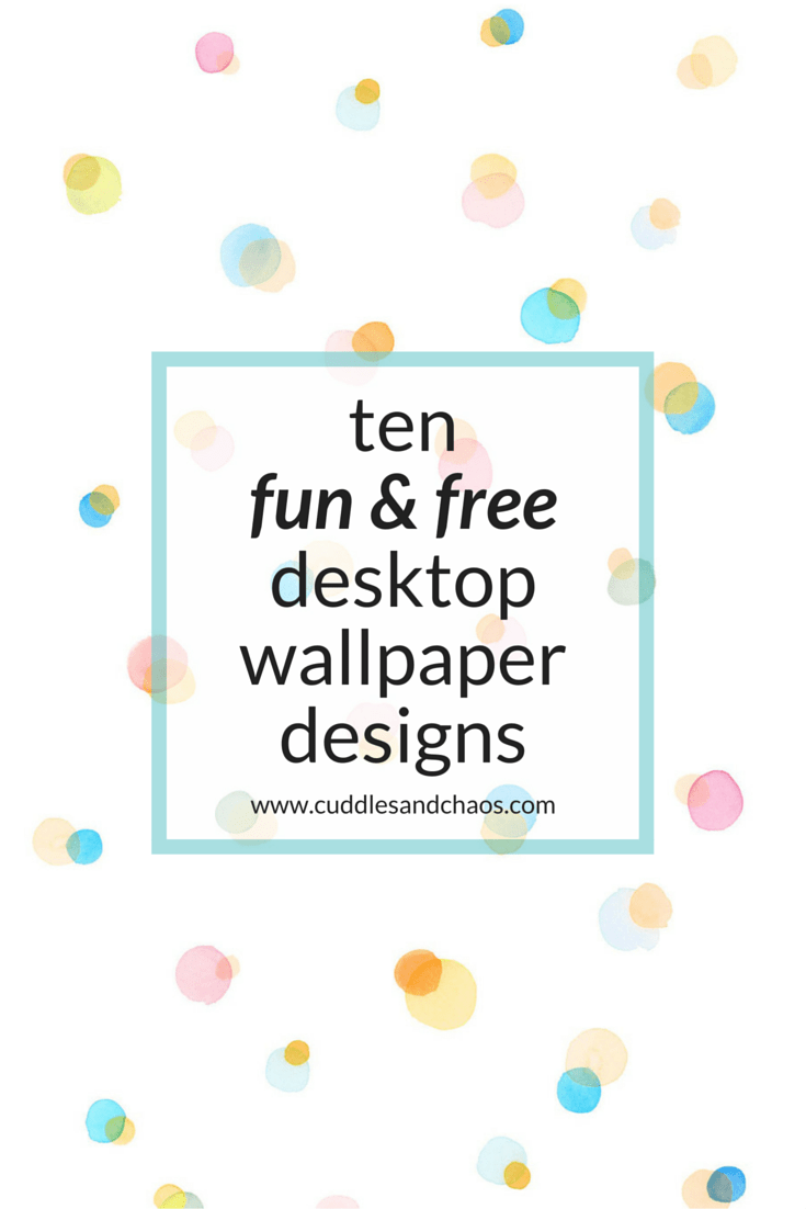 10 Fun and Free Desktop Wallpaper Designs