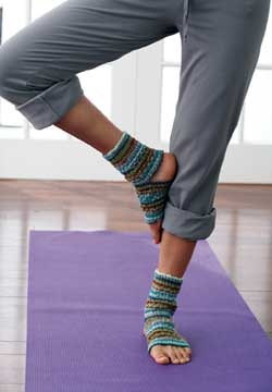 Etsy Finds: My Girl Cave Shop yoga socks