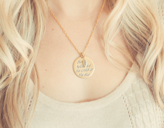 etsy finds | girl power: Beauty of Heart