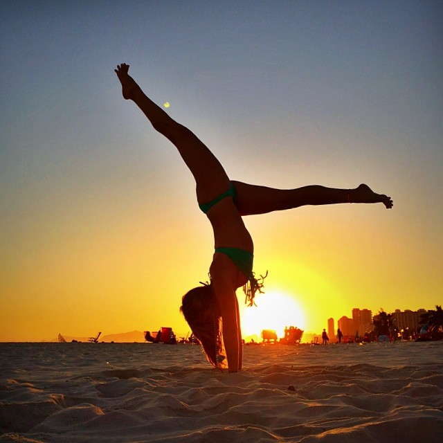 Best Healthy Living Instagram accounts: yoga_girl