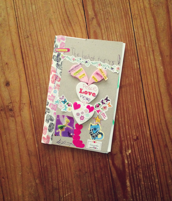 DIY bookmaking: kids book