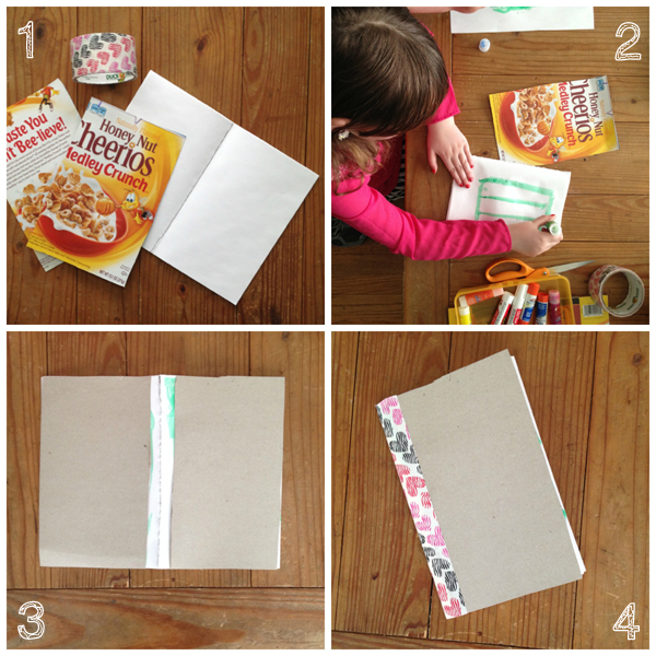 DIY bookmaking with kids
