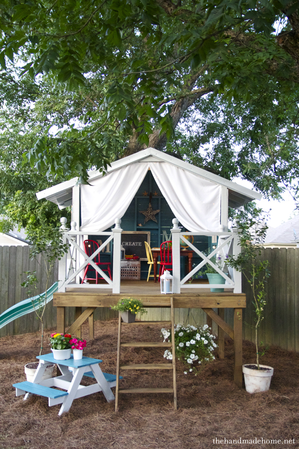 outdoor living inspiration: kids hideaway