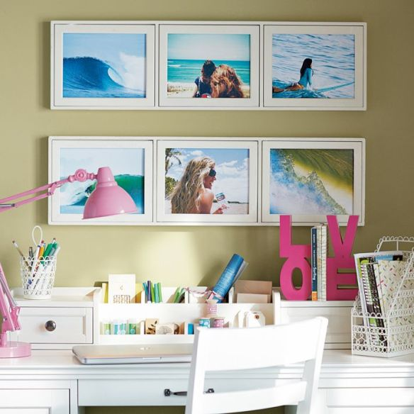 living in PB Teen: photobox frames